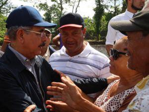 Presidente Medina consternado con sucesos en Villa Isabela y El Mamey