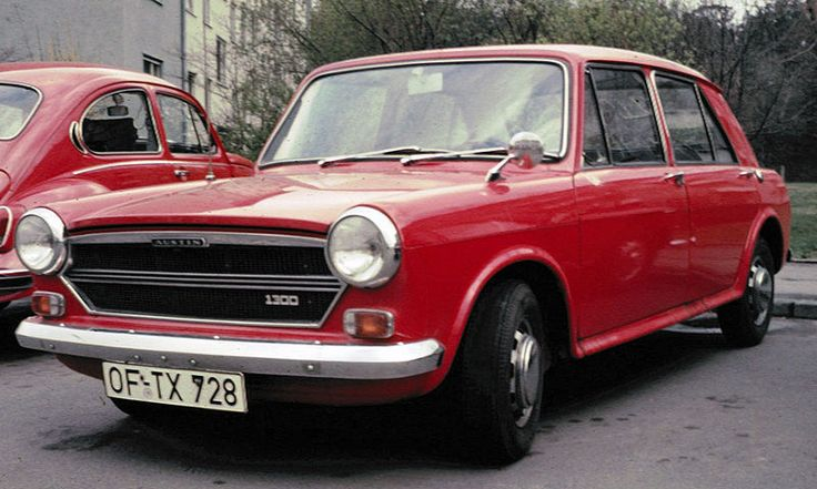Austin 1300 (Also 1100) 1.3L and 1.1L A-series 4-cylinder engines Built 1963 to 1974 (The MKI  Morris 1100 Version was built from 1962 to 1971)