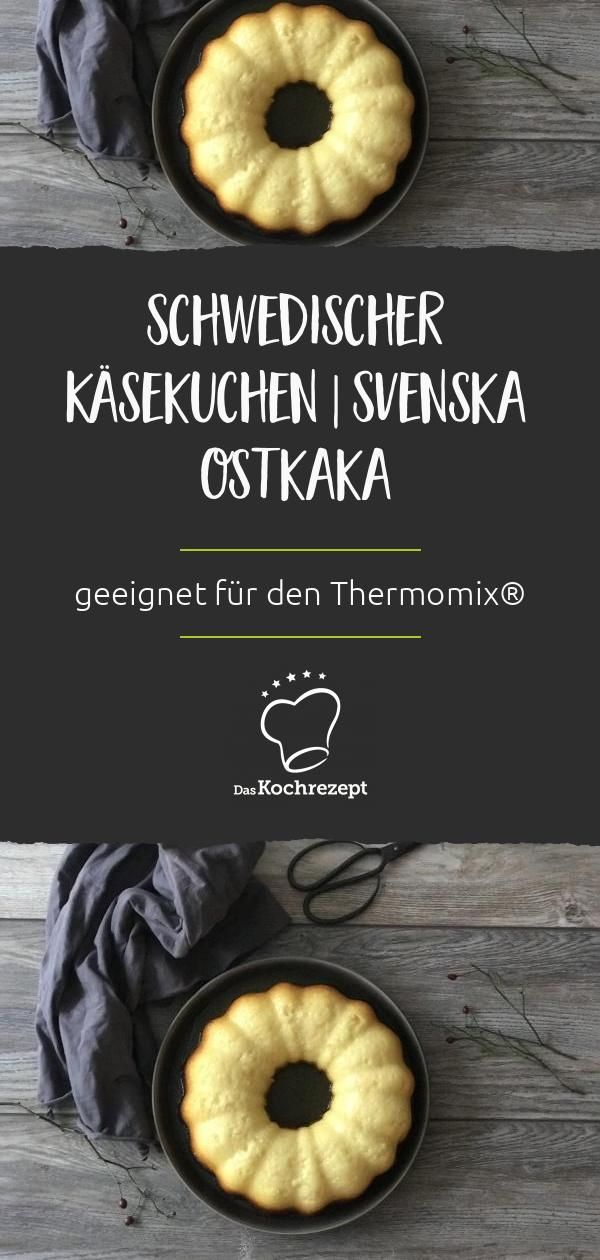 Schwedischer Käsekuchen / Svenska Ostkaka passend zum Thermomix®
