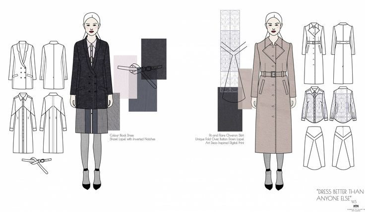 Hawes & Curtis - Outfit 5 & 6