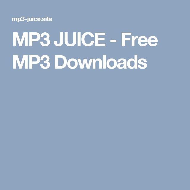 MP3 JUICE - Free MP3 Downloads