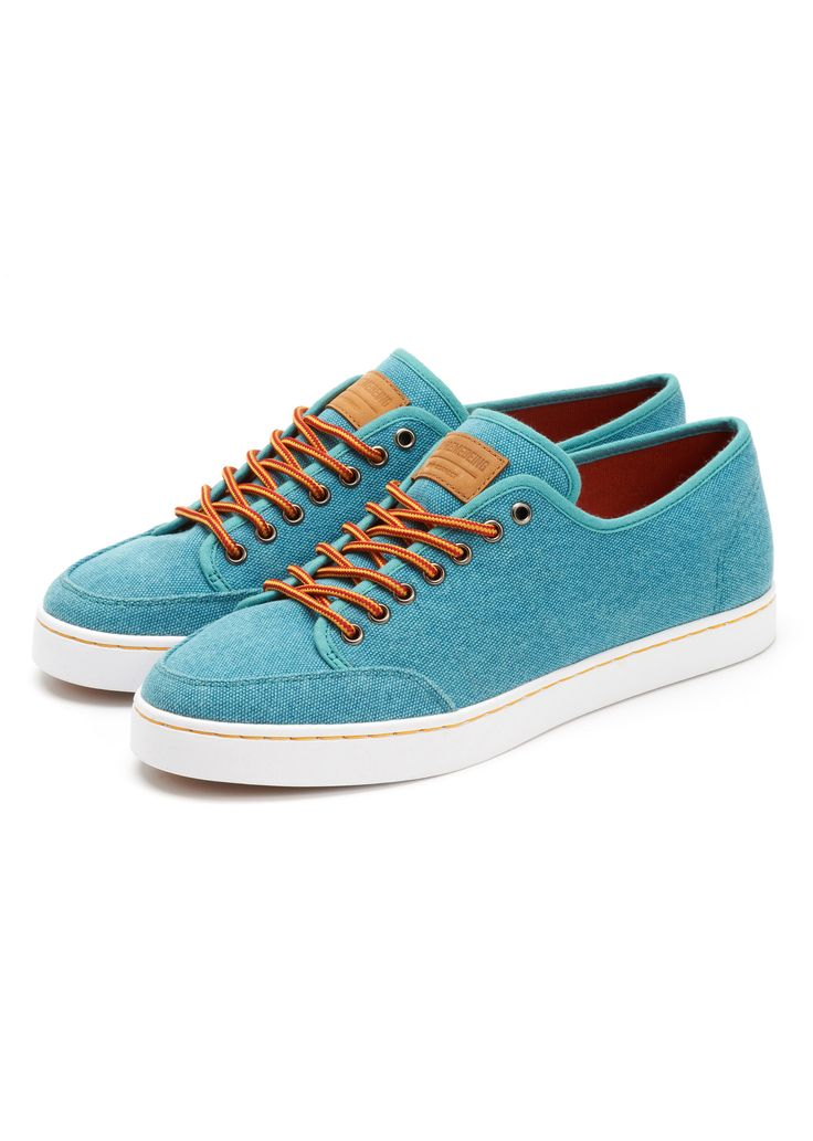 SUNSTITCH LOW-TOPS  KAPOW BLUE