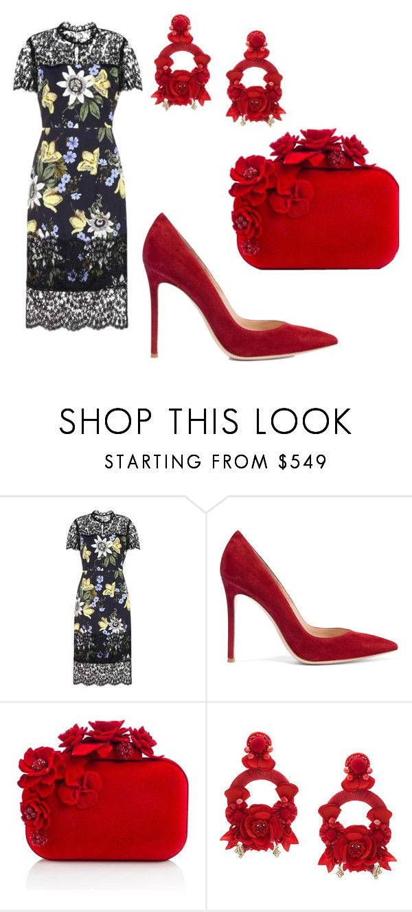"""""""Duchess Inspired"""" by acaguiar on Polyvore featuring Erdem, Gianvito Rossi, Jimmy Choo and Ranjana Khan"""