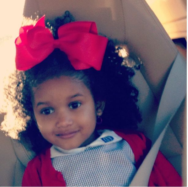 Erykah Badu's Daughter Has Adorable Curls! | Black Girl with Long Hair