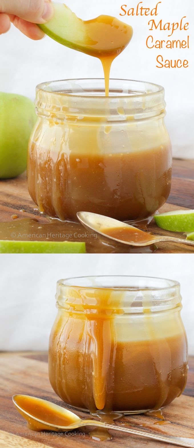 Maple Caramel Sauce - Made with maple syrup!1000x easier than caramel ...