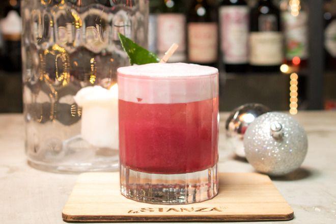 Christmas Sour от La Stanza bar  . Обзор напитков из меню столичных ресторанов