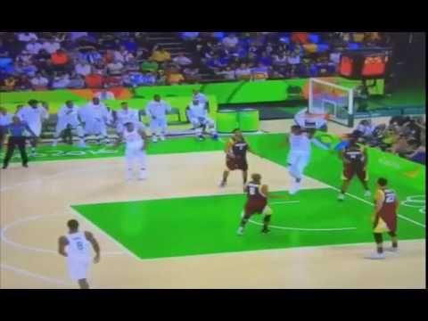 Team USA Basketball 2016 Destroys Venezuela at Rio Olympics 2016