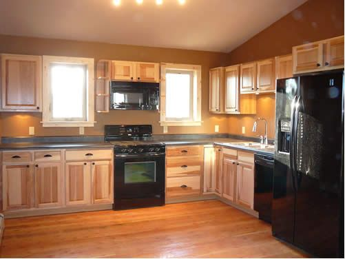 1000 ideas about kitchen black appliances on pinterest