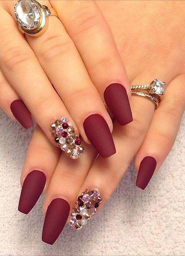 The February trend line for nail design red is the color of love The February trend line for nail design red is the color of love <a class=