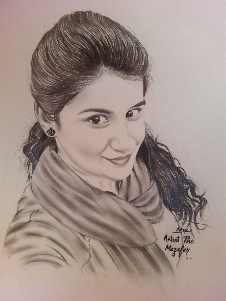 vandita sharma sketch by artist the muzafar