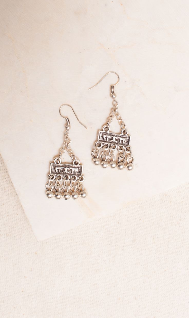Ethnic Zamac Earings