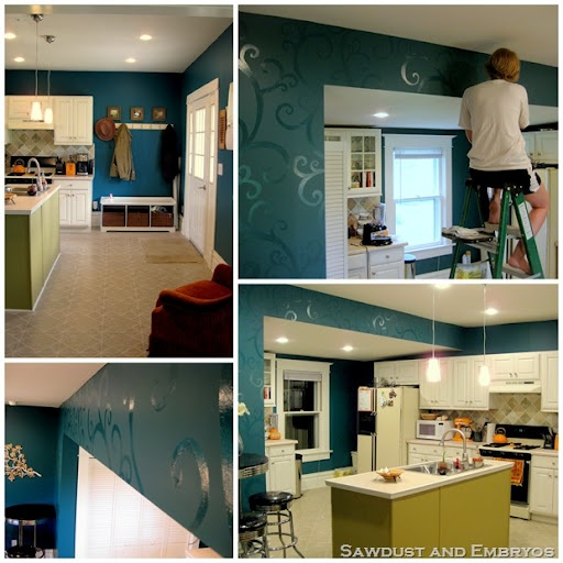 Teal Kitchen Cabinets On Pinterest: 1000+ Ideas About Teal Kitchen Walls On Pinterest