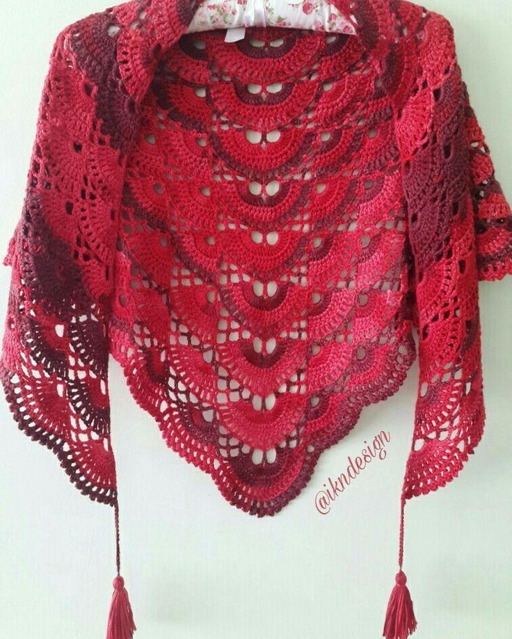 #batiksal #shawl #ikndesigncrochet