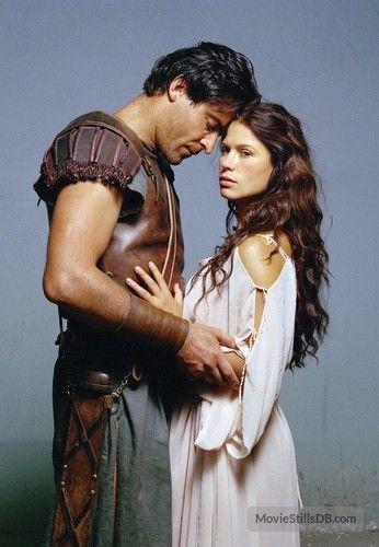 Spartacus - Promo shot of Rhona Mitra & Goran Visnjic