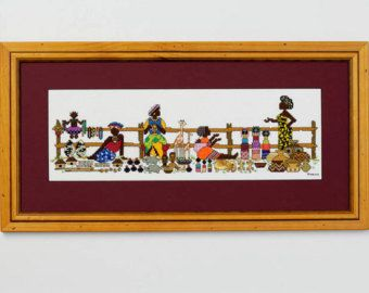 A delightful scene of people and animals making their way to the market 14cm x 42cm (actual stitched area)  This pattern is INSTANTLY DOWNLOADED once payment is recieved and supplied in a PDF format