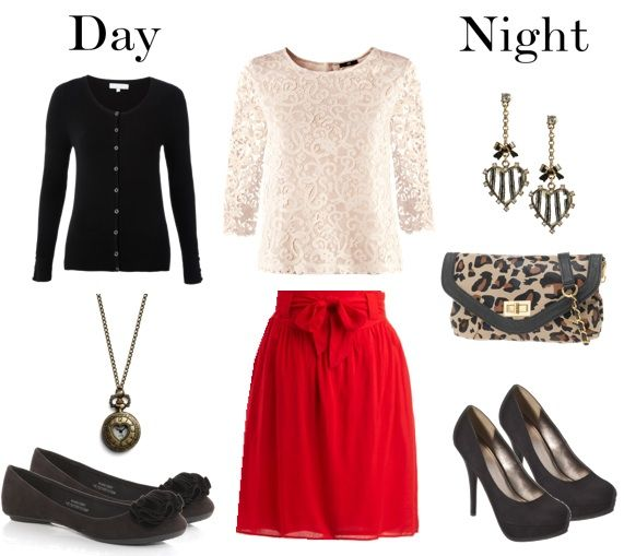 Red skirt idea