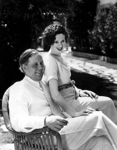 Charles Laughton & wife Elsa Lancaster