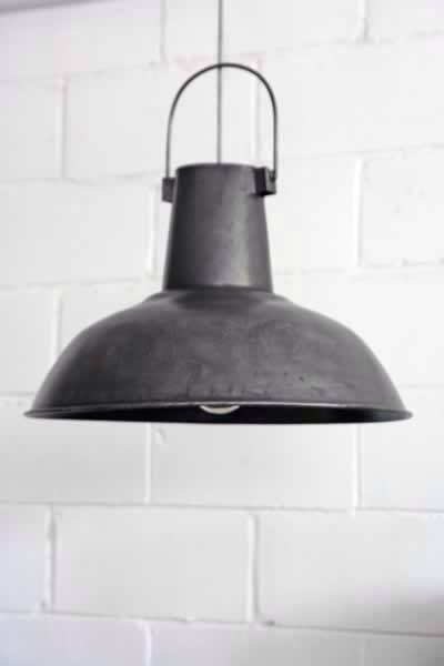Industrial lamp metal lamp shade