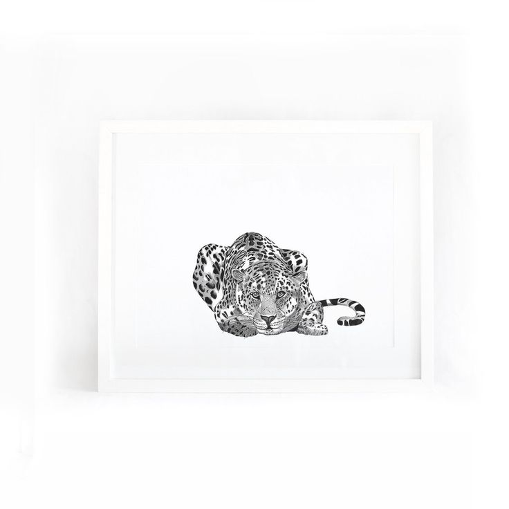 Crouching Leopard – Leden Design