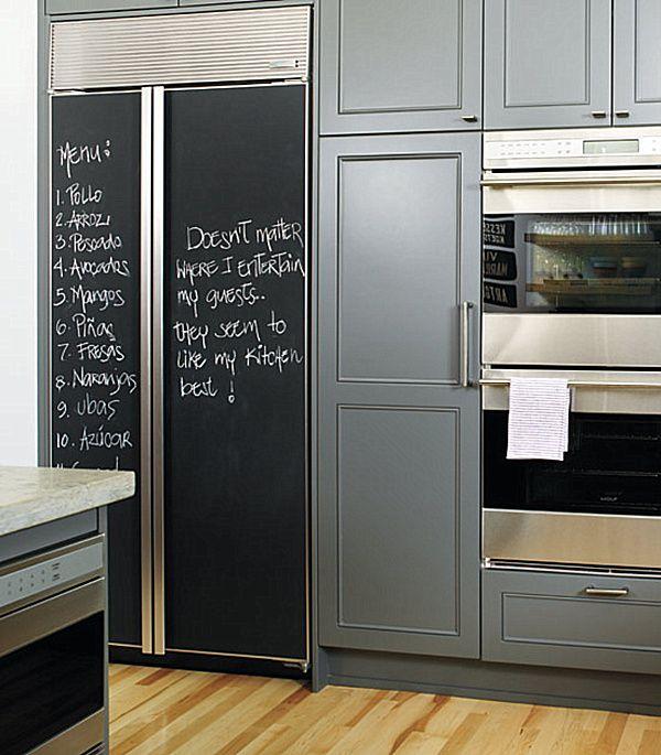 Best 25 Chalkboard Paint Walls Ideas On Pinterest: 25+ Best Ideas About Chalkboard Paint Refrigerator On