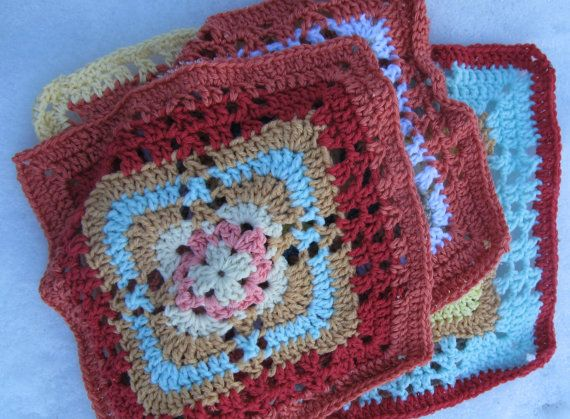 Knitting Patterns For 12 Inch Squares : 1000+ images about Scrap knitting and crocheting on Pinterest Free pattern,...