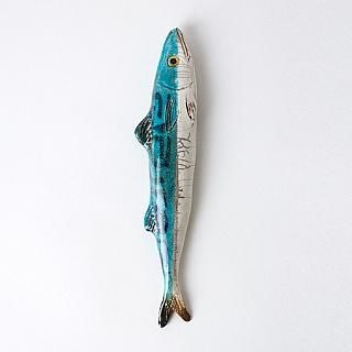 Mackerel Ceramic Fish : k colette
