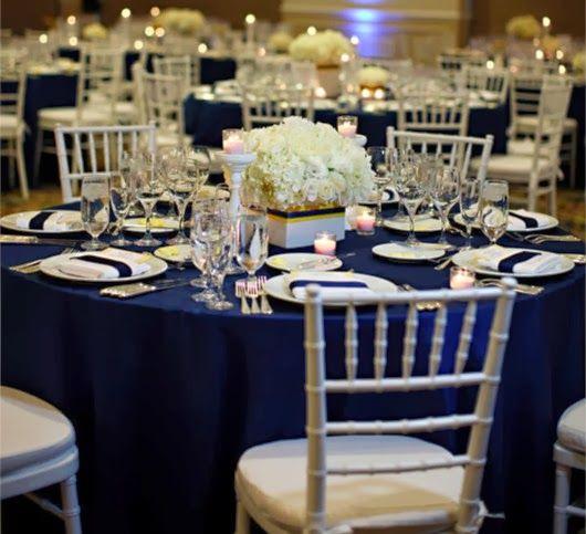 Wedding Lisa - Wedding Ideas blog: Wedding Color Themes 2014 – Top Trend Navy Blue and Neutral