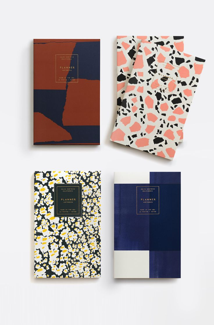Julia Kostreva Weekly Planner Notebooks