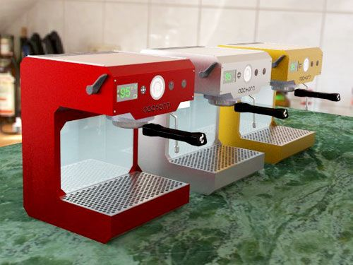my next espresso machine.