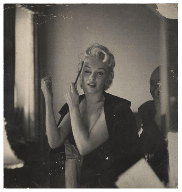 Rare photo of Marilyn Monroe by Hans Knopf, taken in 1956, quite possibly in February. This recently surfaced photo was for sale in August 2012