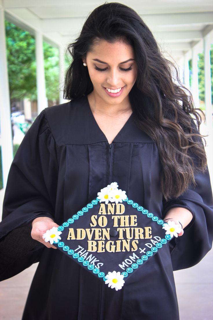 Cap and gown decor graduation senior pictures