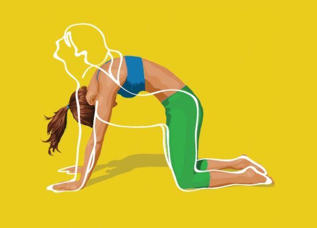 Упражнение от обвисшего живота, просто бомба, помогает на 100% Упражнение 1: Глубоко вдохните животом, максимально выпячивая брюшную стенку. Раз, два, три, четыре, пять. Расслабились, выдохнули весь воздух через рот. Втянули живот в себя, подтягивая его вверх к желудку. Как будто вы хотите спрятать его под рёбра. Задержали дыхание. Раз, два, три. Снова вдохнули, повторяя упражнение …