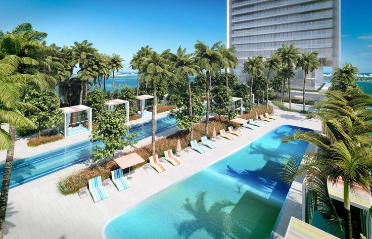 Miami innove, Miami se construit. Comme nous, vous avez vos marques favorites ; les voitures ? C'est Aston Martin. Les accessoires ? Fendi, évidemment. Les costumes ? Armani, toujours.