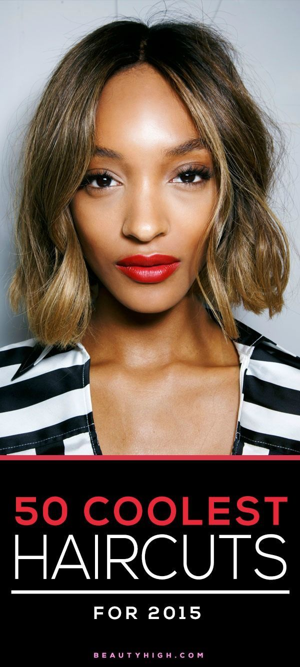 major haircut inspiration - the 50 coolest cuts for 2015 // Jourdan Dunn's wavy bob