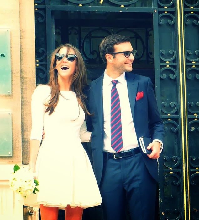 robe mariage civil courte Mademoiselle se marie