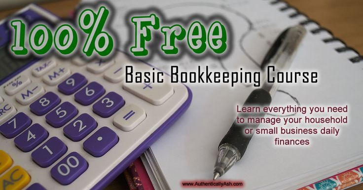 This is a free online bookkeeping course, intended for you to teach yourself bookkeeping in order to do your household or your small business' bookkeeping.