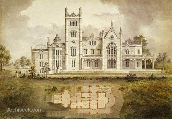 1838 Lyndhurst Tarrytown New York Gothic Revival