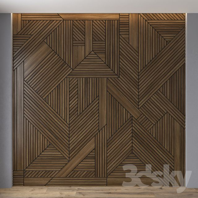 3d Models 3d Panel Wall Panel 06 Wooden Wall Design Wood Interior Design Wall Paneling