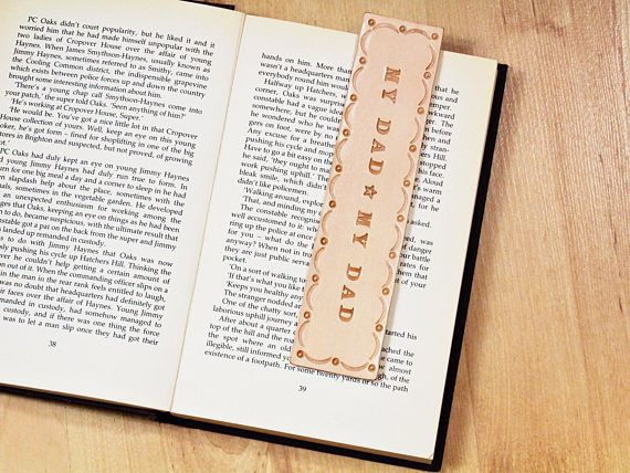 Handmade Bookmark, Leather Bookmark, Dad Bookmark, Gift For Dad. Repin To Remember. #dad, #dadbookmark, #giftfordad, #dadgifts, #leatherbookmark, #bookmark, #bookmarker, #handmadebookmark, #handmadebookmarker, #leatherbookmarker, #leather, #leatheraccessories, #etsy, #etsyshop, #etsyfinds, #etsygifts, #handmade, #handmadewithlove, #tinasleathercrafts.