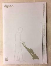 Dyson DC07 Manual upright vacuum factory instruction guide book