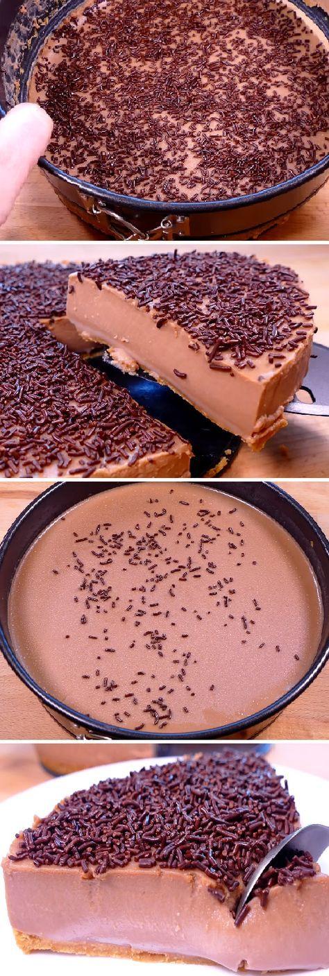 Me Súper Encantó la Tarta de Chocolate Sin Horno más fácil y rica de hacer del mundo. #facil #comohacer #postres #sinhorno #receta #recipe #casero #torta #tartas #pastel #nestlecocina #bizcocho #bizcochuelo #tasty #cocina #chocolate #pan #panes Si te gusta dinos HOLA y dale a Me Gusta MIREN…