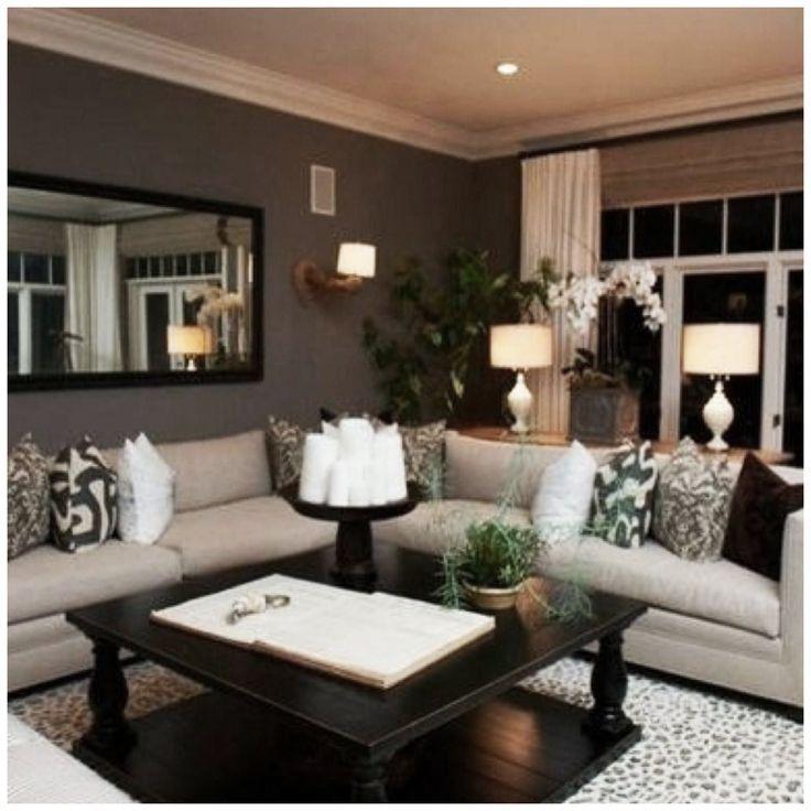 The Plumed Nest Home Decor Ideas Theplumednest On Pinterest In 2020 Beige Living Rooms Brown Living Room Decor Brown Living Room