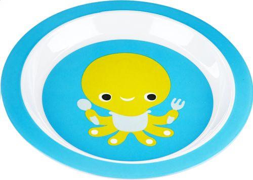 Een vriendje om samen te eten, da's superplezant! Otto is er bij elke maaltijd dankzij dit leuke bord van Dreambee.