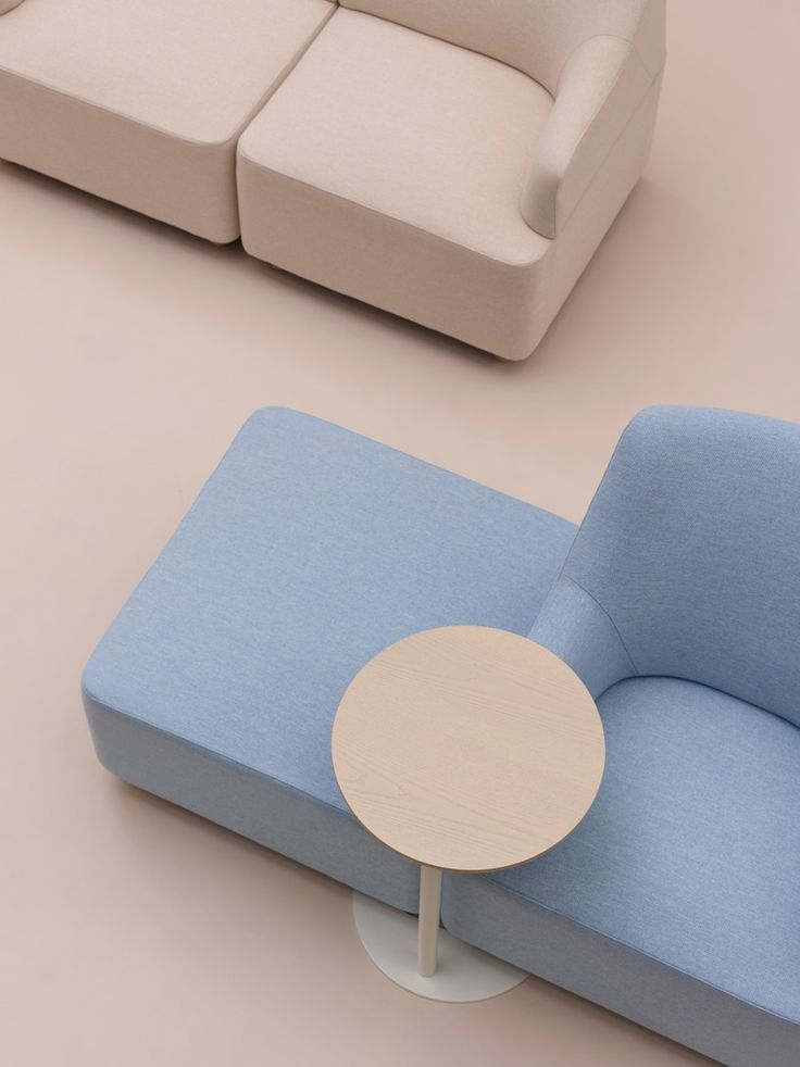 London design studio industrial facility has launched the 'Plex' modular lounge seating collection for Herman Miller.