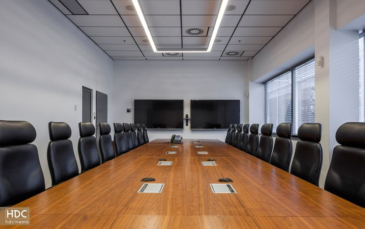 Conference Room / Wroclaw, Poland  #audiovisual #business #latesttechnology #technology #smart #conference