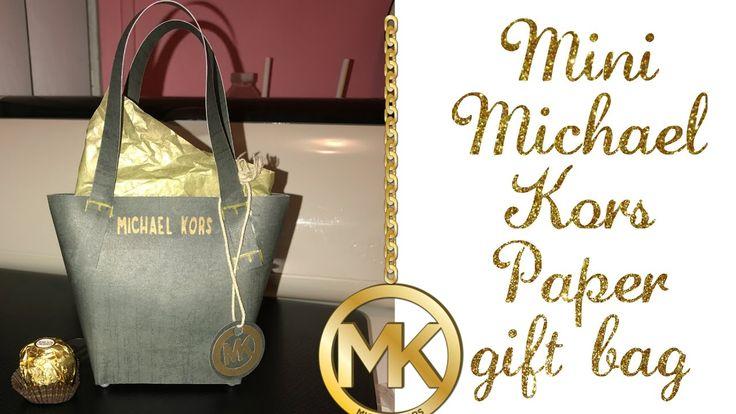 "Mini ""MICHAEL KORS"" PAPER PURSE gift bag - YouTube"