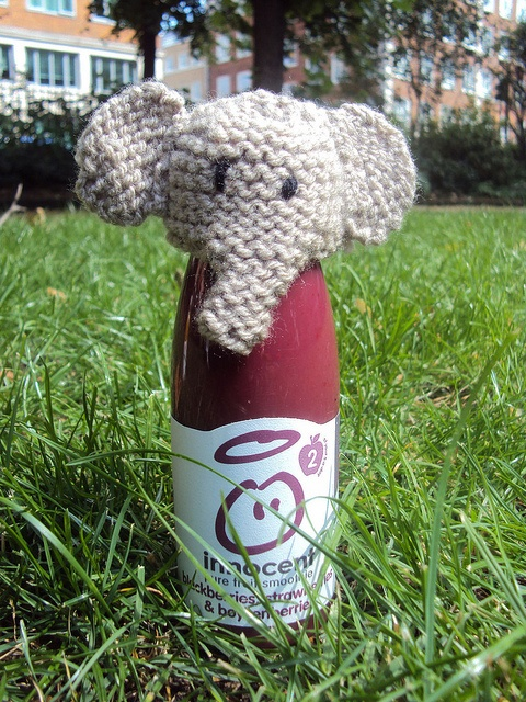 From the Big Knit 2011 - now that's very clever!