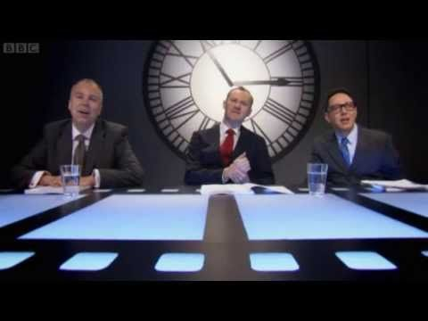 """In which Mark Gatiss has an American accent and is obsessed with pirates!  ▶ The League Of Gentlemen in """"Horrible Histories"""" - The Julius Caesar Project - YouTube"""