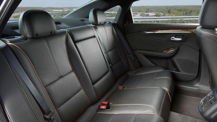 2016 Impala LTZ full-size cars rear seats
