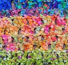 Crochet a Colorful Rag Rug With This Free Pattern
